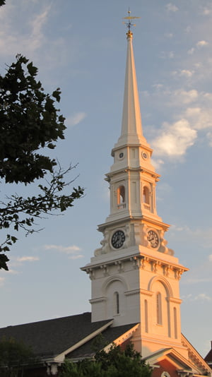 North Church, Market Square, Portsmouth, NH